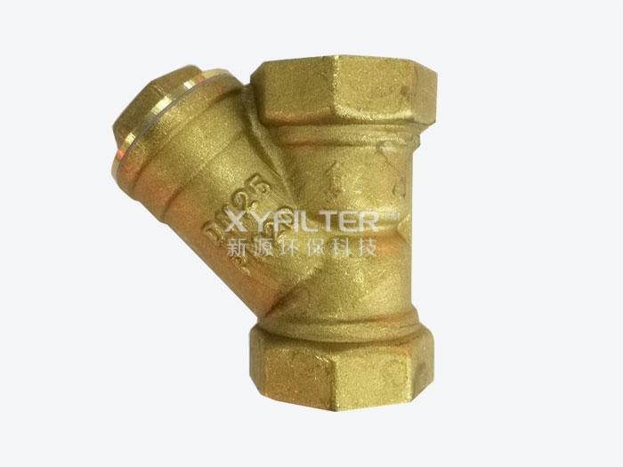 黄铜Y型过滤器DN25