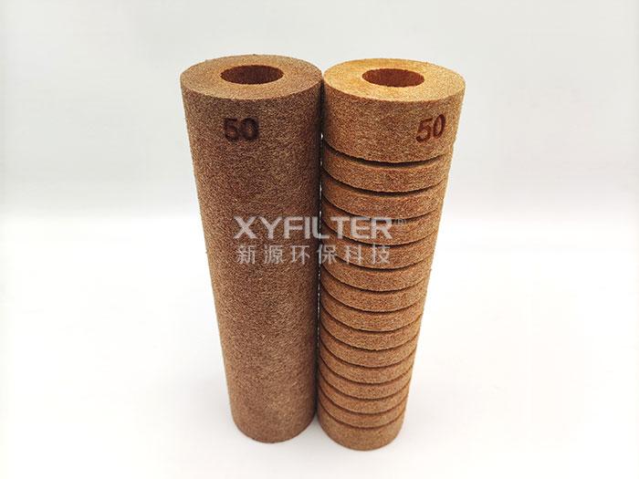 棕色酚醛树脂纤维滤芯
