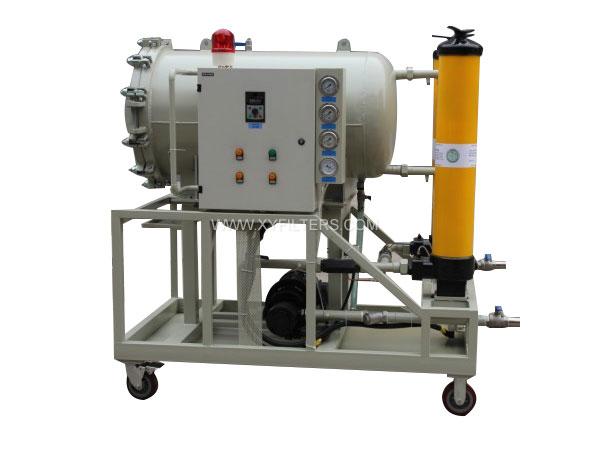 HCP-100聚结脱水滤油机