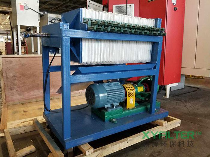 LY压力板框式滤油机为河北